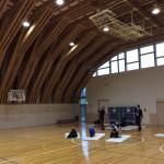 木質体育館